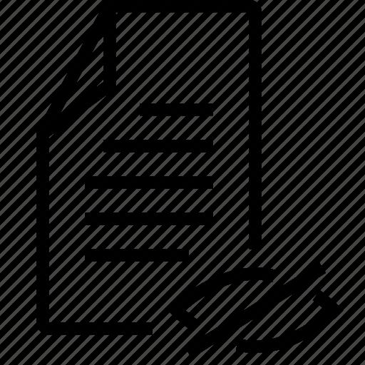 file, hide icon