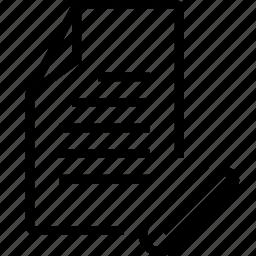 attache, file icon
