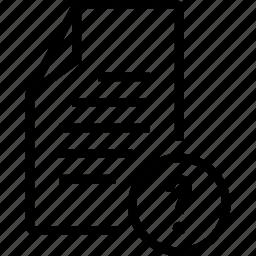 file, unknown icon