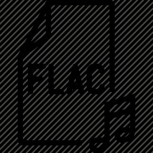 audio, file, flac icon