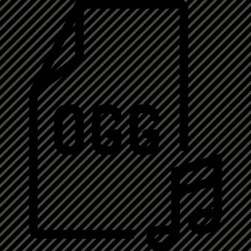 audio, file, ogg icon