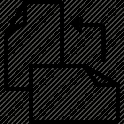 file, files, orientation, rotate icon