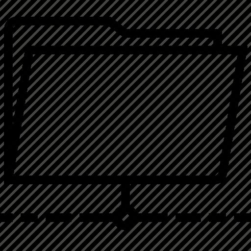 folder, network, shared icon