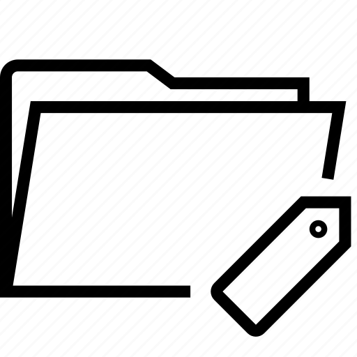 folder, tag, tags icon
