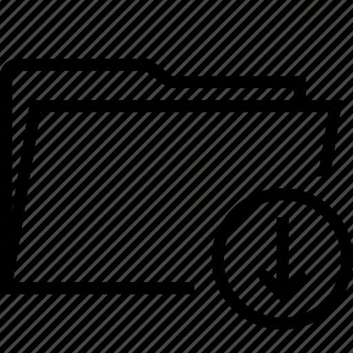 folder, load icon