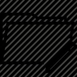 edit, folder, pencil, rename icon