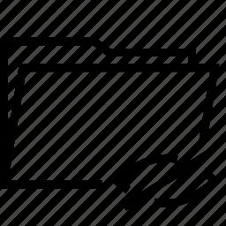 folder, hide icon