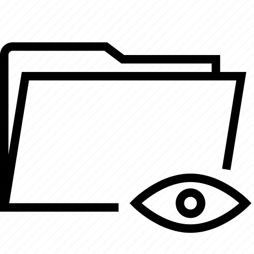 folder, show icon