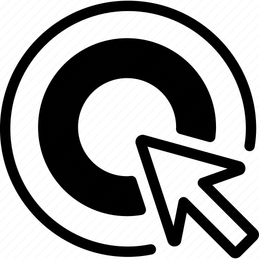 ad, ad network, advertising, click, cpc icon