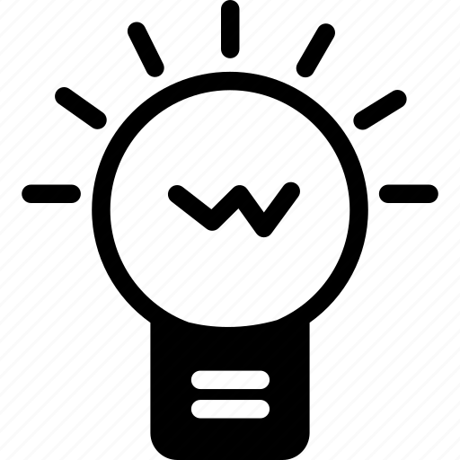 Bulb, creative, idea, light, working icon - Download on Iconfinder
