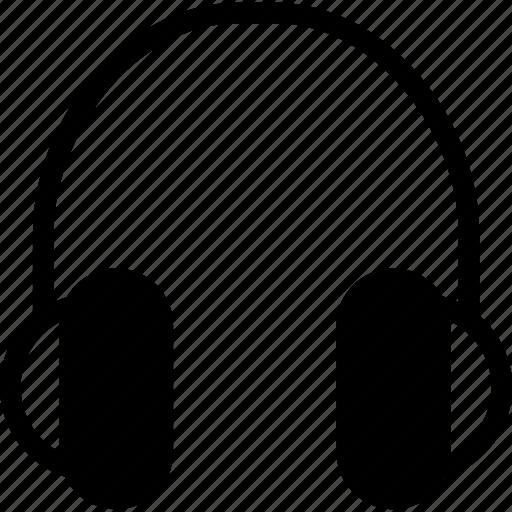 audio, headphone, listen, multimedia, music icon