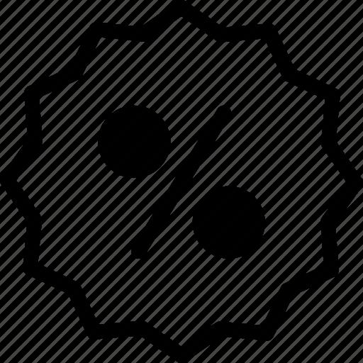 business, e shop, percent, sale, sales icon