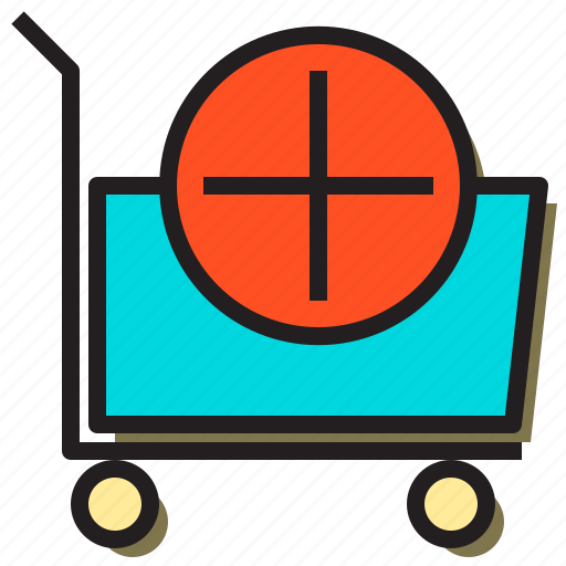 add, bag, basket, cart, new, online, trolley icon