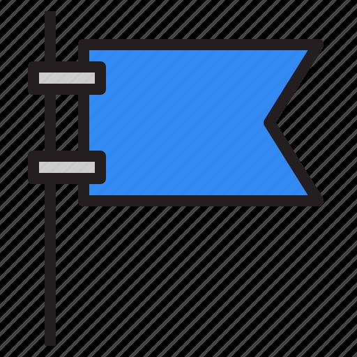 flag, flags, marker, navigation, pointer, printer, shop icon