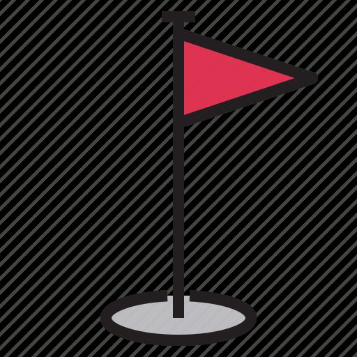 arrow, circle, flag, goal, pin, target, world icon