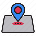 country, direction, location, pin, place, point, travel icon