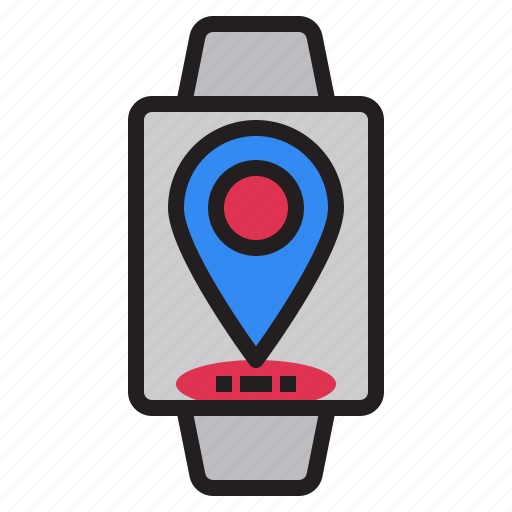 marker, medal, navigation, position, smartphone, smartwatch, technology icon