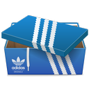 adidas, box, shoe icon