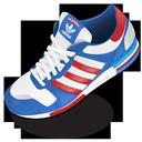 adidas, shoe icon