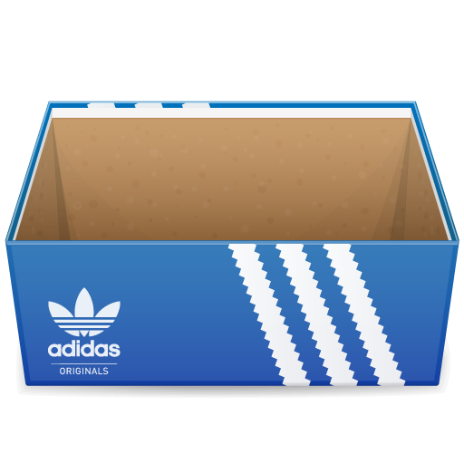 adidas, box, shoe, shoes icon
