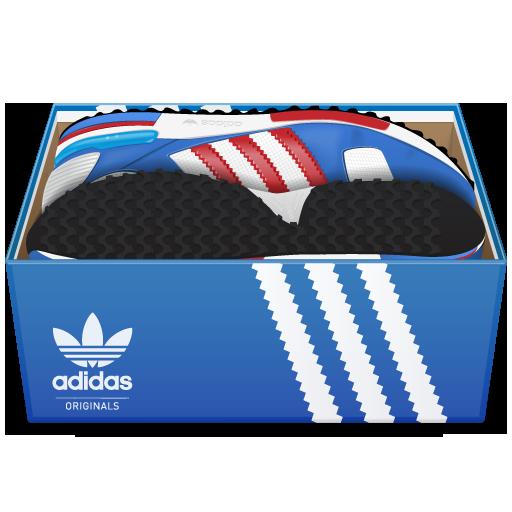 adidas, box, shoes icon