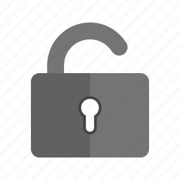 exit, lock, logout, open, power off, sign out, turn off icon