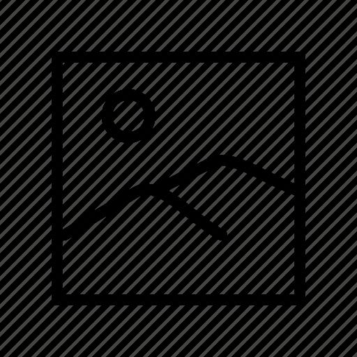 default image, gallery, image, landscape, photo, photos, picture icon