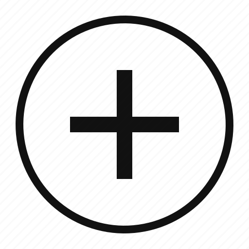 add, create, new, plus, save icon