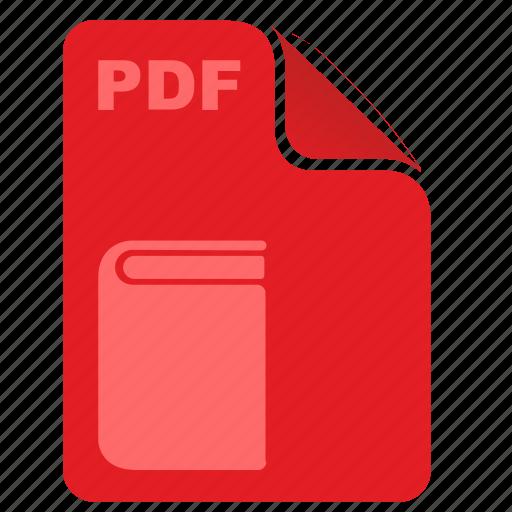 acrobat, article, book, ebook, literature, pdf icon