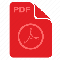 acrobat, adobe, document, file, rounded icon