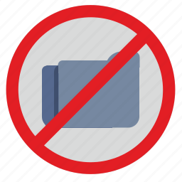 api, cancel, documents, files, pdf, round, stop icon