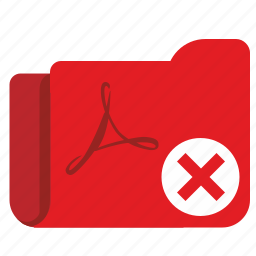 api, cancel, close, delete, file, folder, stop icon