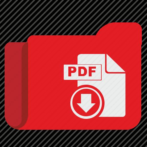api, download, file, folder, pdf, storage icon