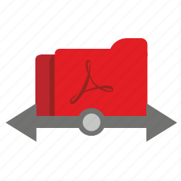 api, arrow, folder, left, move, pdf, right icon