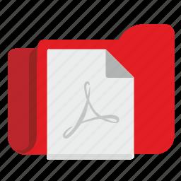 document, file, folder, list, office, pdf icon