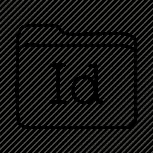 adobe indesign, application, files, folder, folders, format, indesign icon