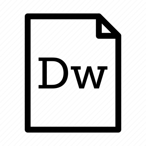 adobe dreamweaver, application, download, dreamweaver, file, files, format icon