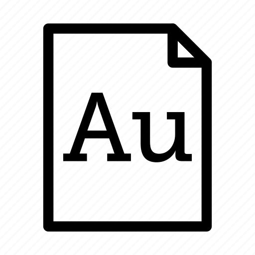 adobe audition, application, download, file, files, format icon