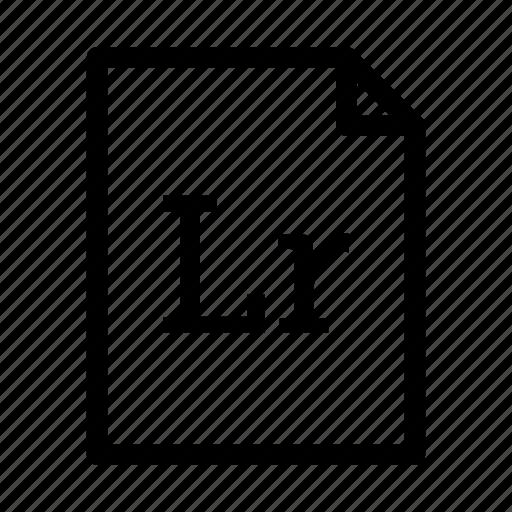 adobe lightroom, application, download, file, files, format, lightroom icon