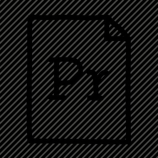 adobe prelude, document, file, files, page, prelude, sheet icon