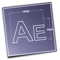 adobe, aftereffects icon