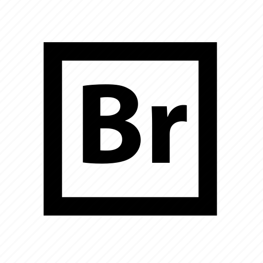 adobe creative suite, bridge icon