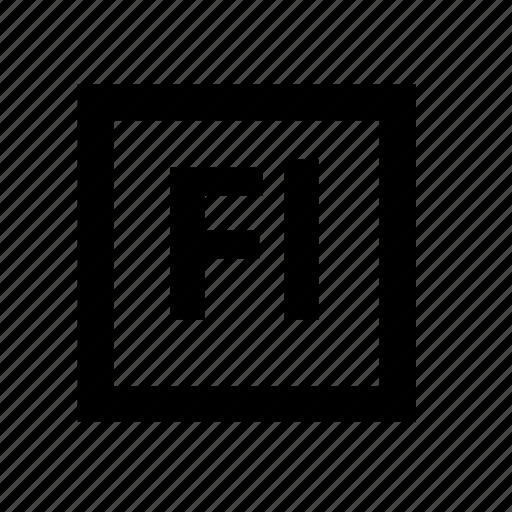 adobe creative suite, animation, flash icon