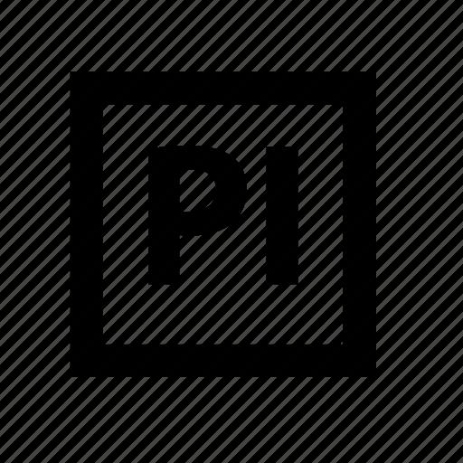adobe creative suite, prelude icon