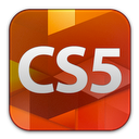 adobe, cs5, design, standard icon