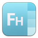 adobe, freehand icon