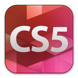 adobe, cs5, design, premium icon