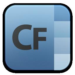 adobe, builder, coldfusion icon