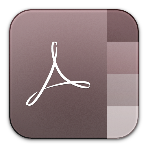 adobe, distiller icon