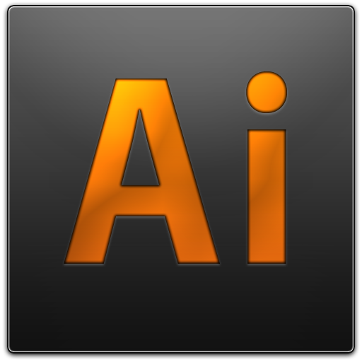 adobe, ai, illustrator icon